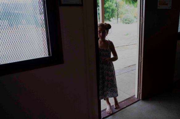 Girl at door.2