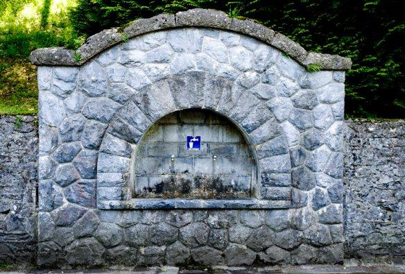 Lourdes water tap