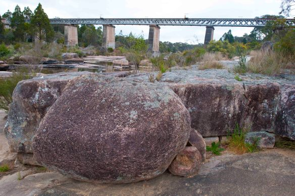 Rocks & bridge