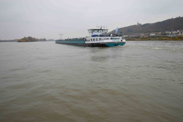 Barge on Rhine