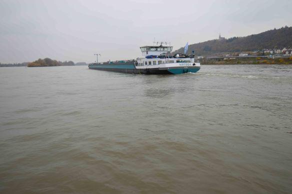 Barge on Rhine