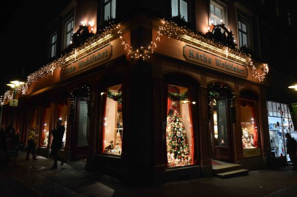Christmas shop night