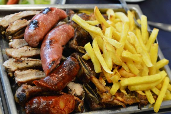 Mixed grill Portuguese style