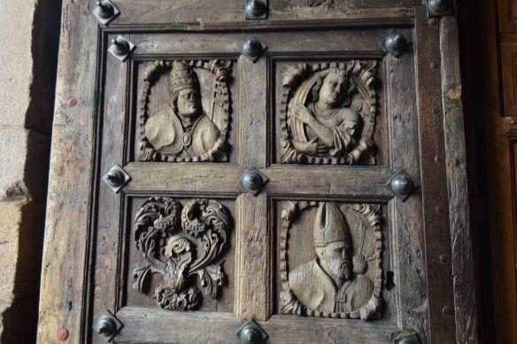 Tui church door