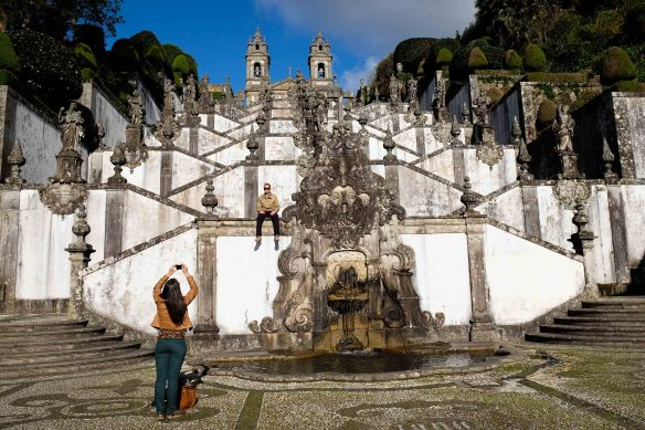 Bom Jesus taking photo
