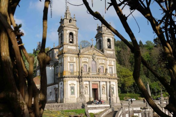 Bom Jesus through vines