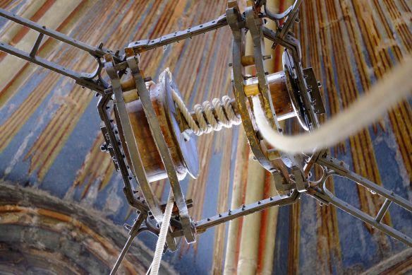Botafumerio pulley