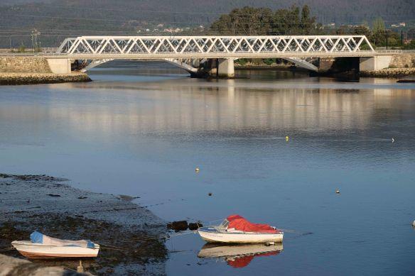 bridge and boats