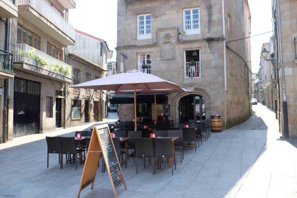 cafe in pontevedra