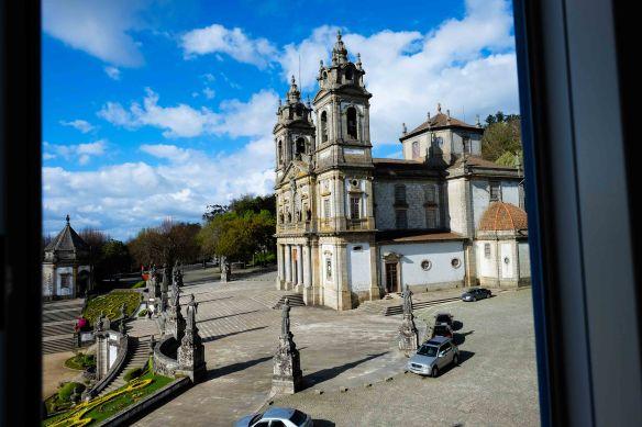 Church outside window