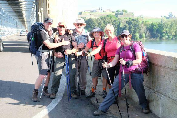 group shot on bridge into tui