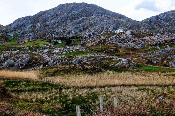 house in rocks