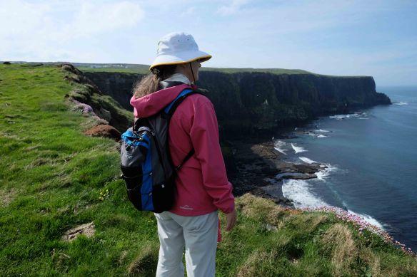 Jen on cliffs.2