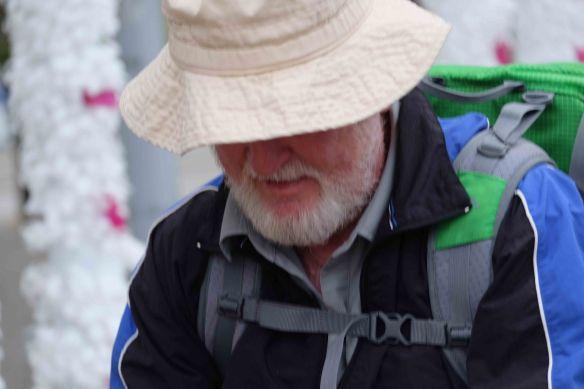 Ken under hat