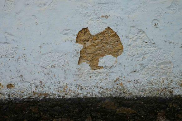 mark on wall