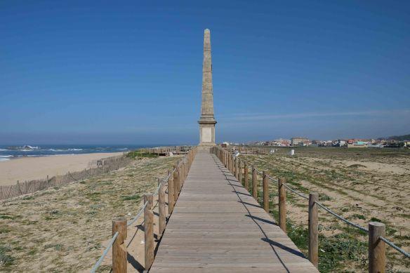 memorial on the beach