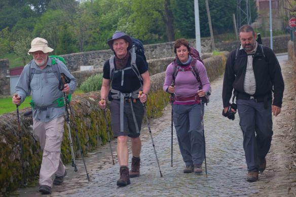 quartet walking