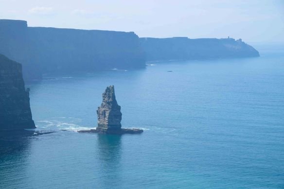 rock tower in sea.1