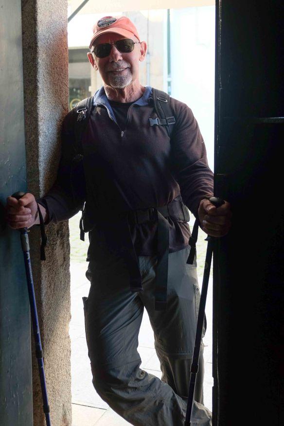 Steve in door