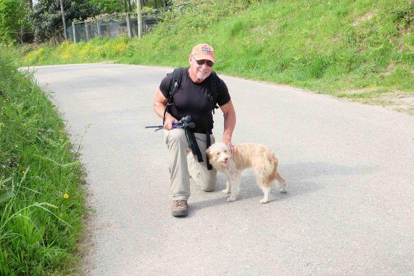 Steve with dog 2