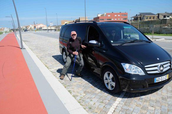 Steve with Van