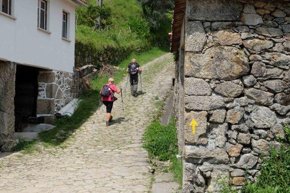 the climb starts