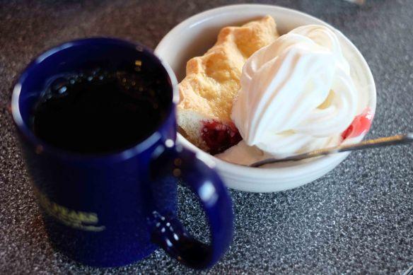 coffee & cherry pie