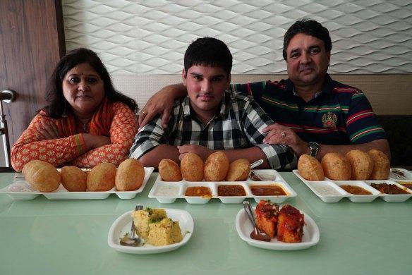 breakfast with Sharmas
