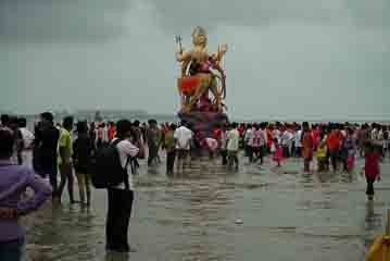 Ganesh down to water