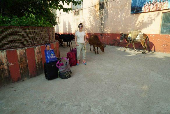 Jen leaving ashram