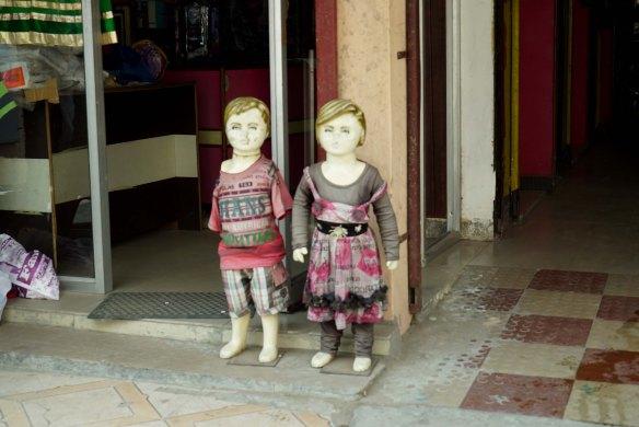 shopfront dummies
