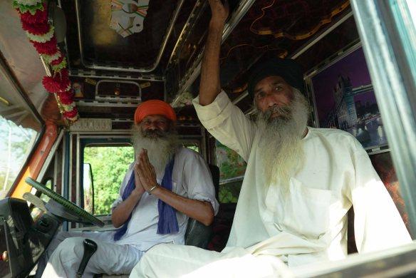 Sikhs in truck