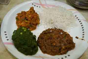 veg meal