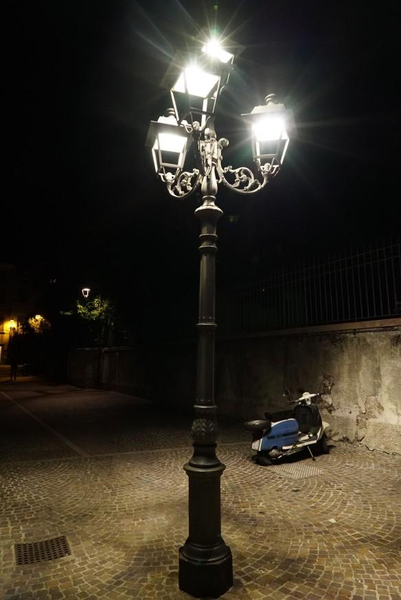 lamp & bike