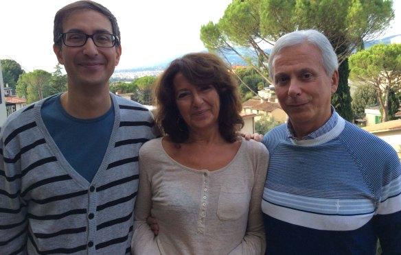 Prof Cognetti + Mariaester + Paolo
