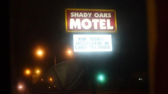 Shady Oaks - night