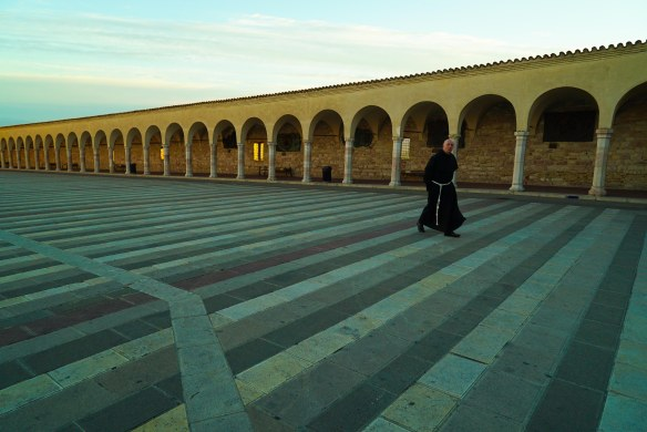 priest in assisi