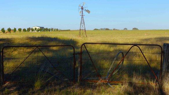 windmill & gate