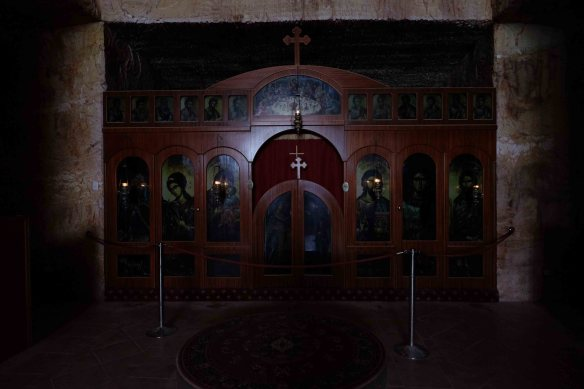 Serbian church altar