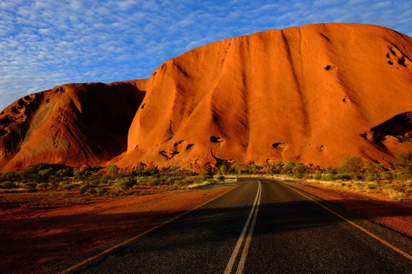 Uluru Side view