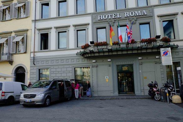 Ext. hotel van Florence