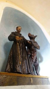 St. Francis with the wolf 2