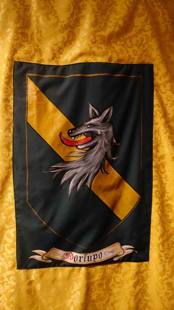 Wolf flag