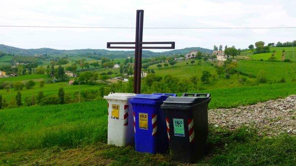 Cross by bins