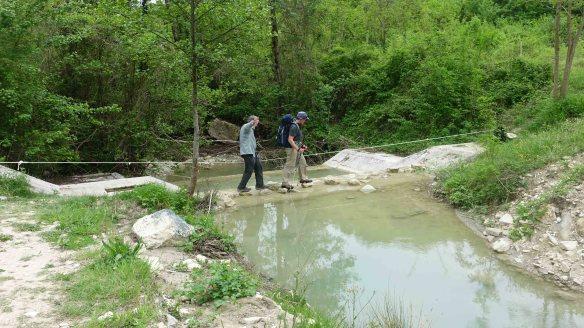 crossing rope creek