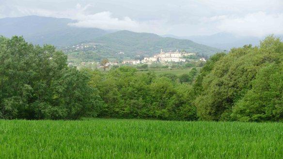 Distant village