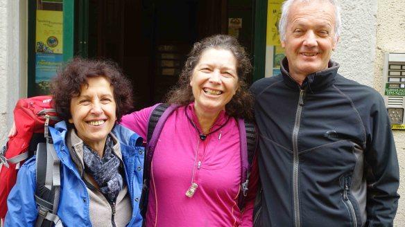 Giovanna, Jen and Ivan