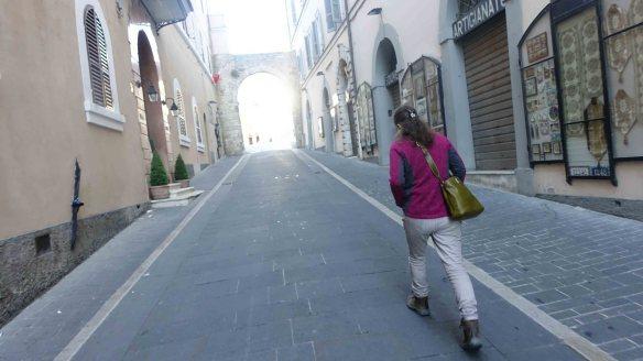 Jen heading to Basilica rv