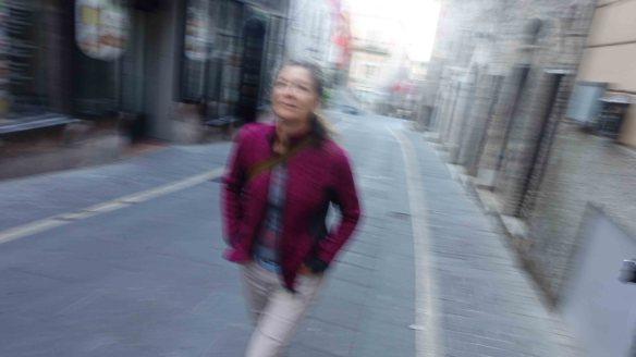 Jen heading to Basilica