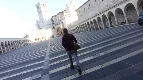 Jen heading to Basilica2